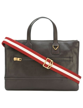 Zipped Briefcase Home Men Bags Laptop Bags & Briefcases by Bally