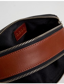 Asos Design Leather Camera Cross Body Bag by Asos Design