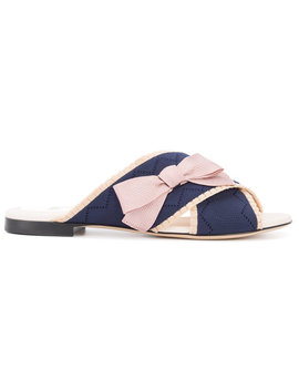 Bow Crossover Sandalshome Women Shoes Sandals by Fendi