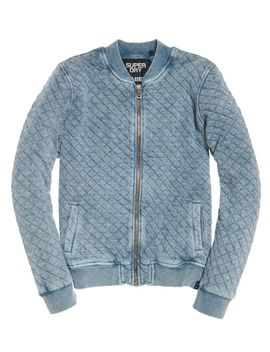 Beach Micro Jersey Bomber Jacket by Superdry
