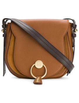 Logo Front Saddle Baghome Women Bags Shoulder Bags by See By Chloé