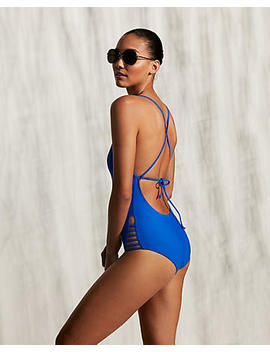 Strappy One Piece Swimsuit by Express