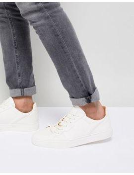 Nicce London – Langham – Weiße Sneaker by Nicce London