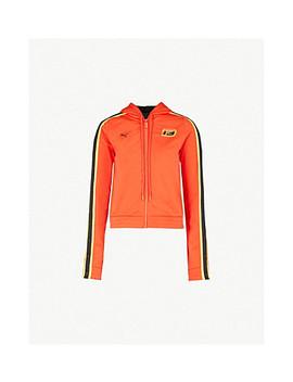 Fenty X Puma Side Stripe Jersey Jacket by Fenty X Puma