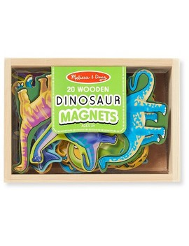 Melissa & Doug® Magnetic Wooden Dinosaurs In A Wooden Storage Box (20pc) by Melissa & Doug