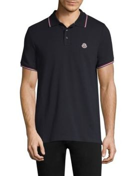 Cotton Polo Shirt by Moncler