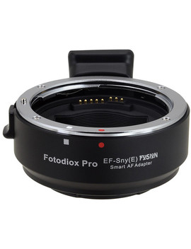 Canon Ef Lens To Sony E Mount Camera Pro Fusion Smart Af Adapter by Fotodio X
