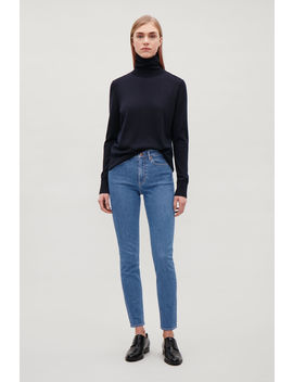 Cropped Skinny Fit Jeans by Cos