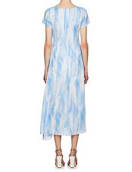 Gracen Tie Dyed Chiffon Dress by Sies Marjan