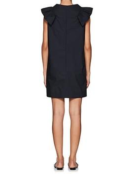 Ruffle Cotton Shift Dress by Atlantique Ascoli