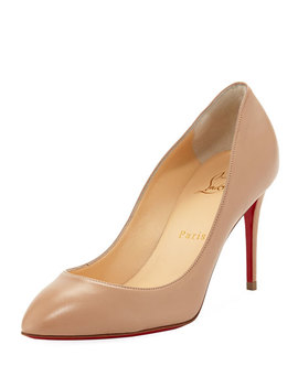 Eloise 85mm Napa Leather Red Sole Pump by Christian Louboutin