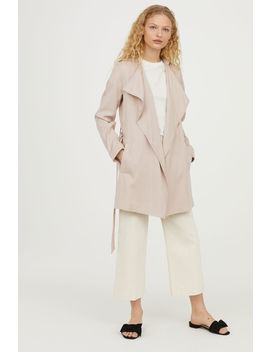 Trenchcoat Aus Lyocell by H&M