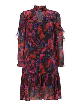 Rio Print Ruffle Dress by Biba