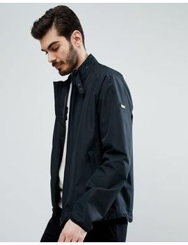 Barbour International Motion Waterproof Zip Through In Black by Barbour