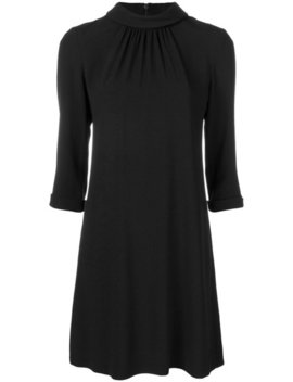 High Neck Tunic Dresshome Women Clothing Cocktail & Party Dresses by Goat
