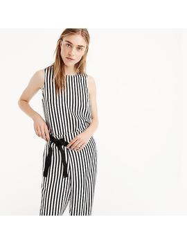striped-silk-top by jcrew