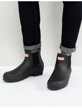 Hunter Original Chelsea Boots In Black by Hunter