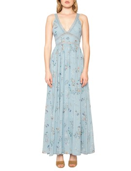 Floral Print Maxi Dress by Willow & Clay
