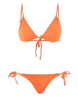 Ring Trim Triangle Bikini Set by Topshop