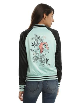 Disney The Little Mermaid Ariel Girls Satin Souvenir Jacket by Hot Topic