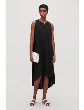 Sleeveless Dress With Pleats by Cos