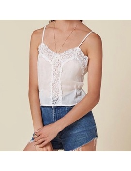 The Reformation Lace Crop Top by Reformation
