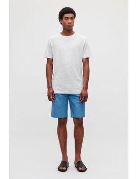 Short Sleeved Linen T Shirt by Cos