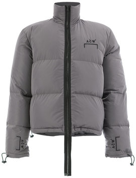 Long Zip Padded Jacket Home Men Clothing Padded & Down Jackets by A Cold Wall*