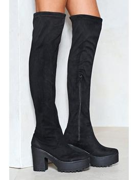 We Knee'd These Thigh High Boot by Nasty Gal