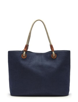 Faux Leather Oversize Tote by Sole Society