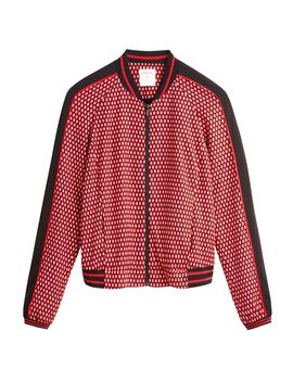 Printed Bomber Jacket by Sandwich