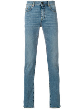 Jeans Mit Schmaler Passform by Saint Laurent