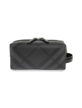 London Check Dopp Kit by Burberry