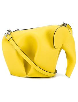 Mini Yellow Elephant Baghome Women Bags Mini Bags by Loewe
