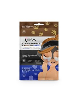 Yes To Triple Masking Kit   Hydrate, Detox, Recharge   3pc by Yes To