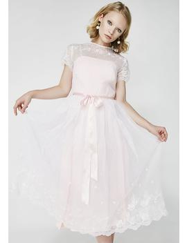 Vintage 70s Lolita Prairie Dress by Dk Vintage
