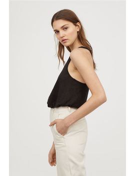 Slub Jersey Tank Top by H&M