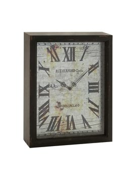 Maison Rouge Lamartine Shadow Box Clock by Maison Rouge