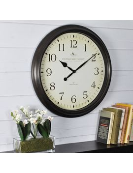 Firs Time® Avery Whisper Wall Clock by Generic