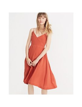 Silk Fern Cami Dress by Madewell