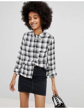 New Look Check Long Sleeve Shirt by New Look