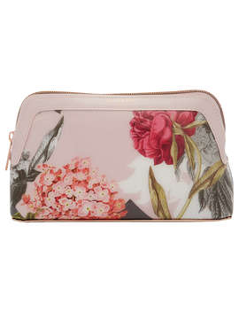 Ted Baker Genlee Palace Gardens Makeup Bag, Dusky Pink by Ted Baker