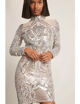 Ornate Mesh Dress by F21 Contemporary