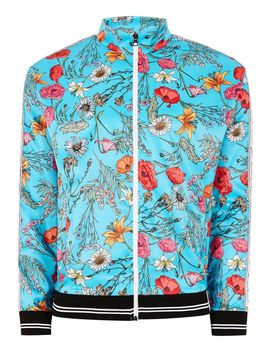 Jaded Floral Track Top* by Topman