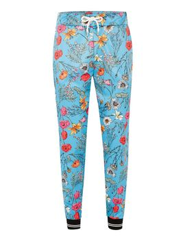 Jaded Floral Satin Joggers* by Topman