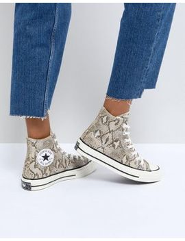 Converse Chuck Taylor All Star '70 High Top Sneakers In Snake Print by Converse