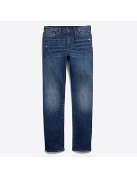 Stretch Bleecker Athletic Fit Jean In Austin Wash by J.Crew