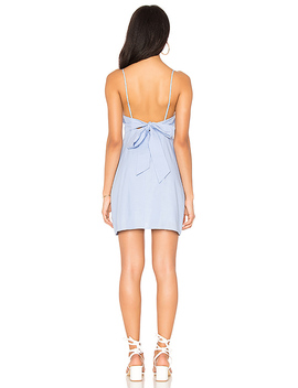 Brynn Tied Back Dress by Line & Dot