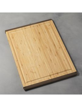 Oxo ® Nonslip Bamboo Large Cutting Board by Crate&Barrel