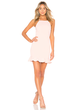 Darlah Tie Back Frill Dress by About Us